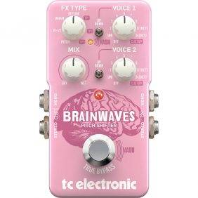 TC Electronic Brainwaves Pitch Shifter Pedal for Electric Guitars