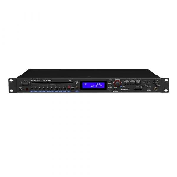 Tascam CD-400U CD/SD/USB Player with Bluetooth and AM/FM Tuner