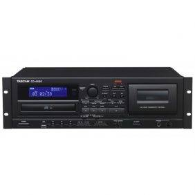 Tascam CD-A580 CD, USB and Cassette Player/Recorder