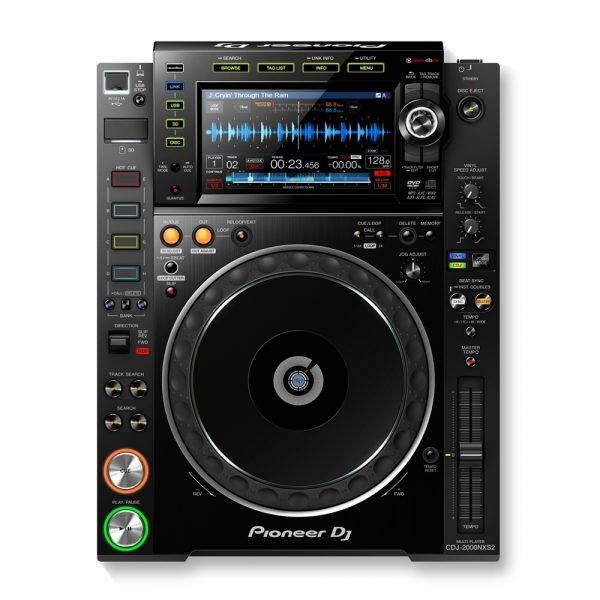 Pioneer CDJ-2000NXS2 Professional Multi Player Black