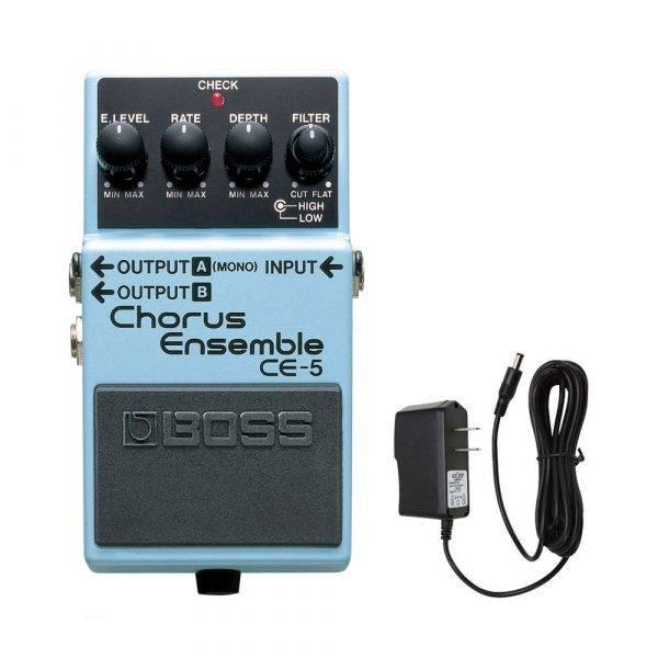 Boss CE-5  Chorus Ensemble w/PigHog PigPower 9V 1000ma Power Supply