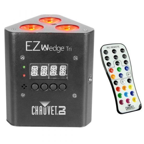 CHAUVET DJ EZWedge Tri Battery-Powered RGB LED Wash Light