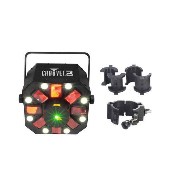 Chauvet DJ Swarm 5 FX LED Lighting Effects Fixture w/Chauvet CLP-10