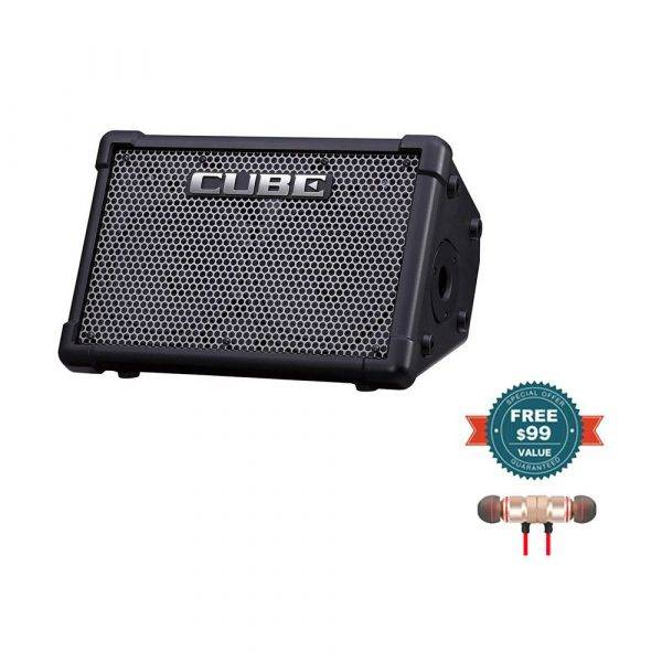 Roland CUBE Street EX 4-Ch 50W Combo Amp with Wireless Earbuds