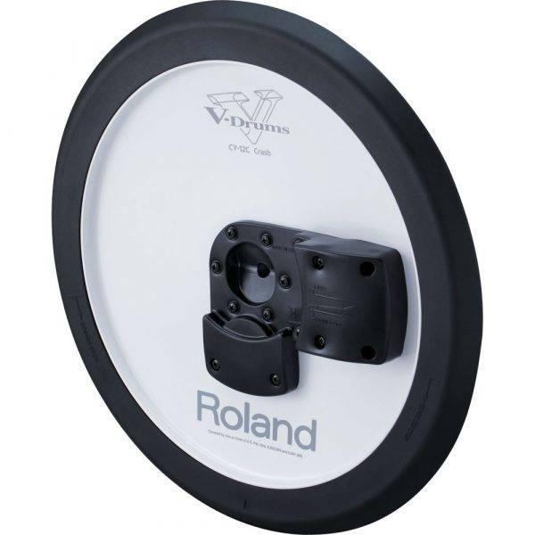 "Roland CY-12C V-Cymbal 12"" Dual-trigger V-Drum Crash Cymbal Pad"