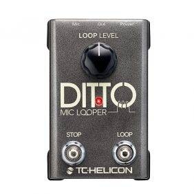 TC-Helicon Ditto Mic Looper  Pedal