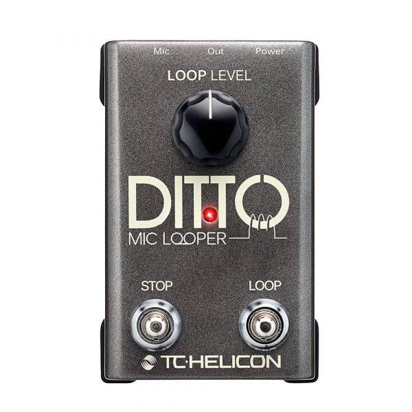 TC-Helicon Ditto Mic Looper  Pedal