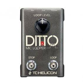 TC-Helicon Ditto Mic  Looper Used