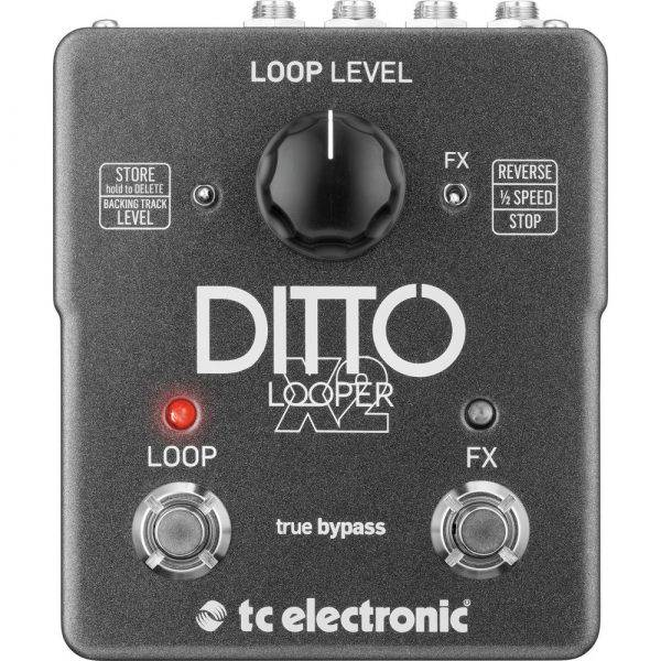 TC Electronic Ditto X2 Looper Effects Pedal Refurbished