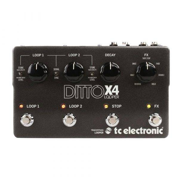 TC Electronic Ditto X4 Looper Pedal with Effects