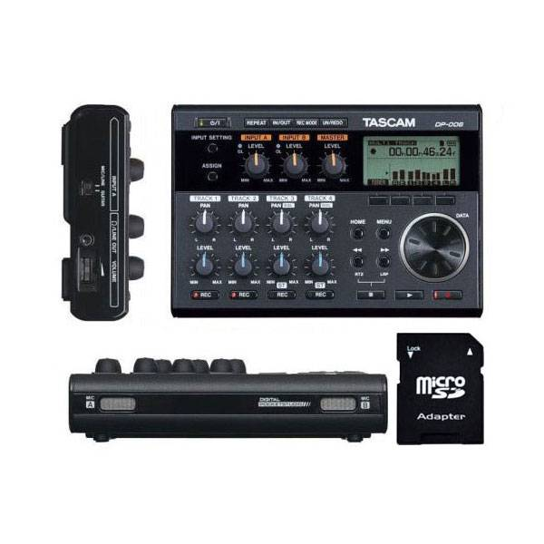 Tascam DP-006 6-Track Digital Pocketstudio with EV MUSIC 32gb SD Card