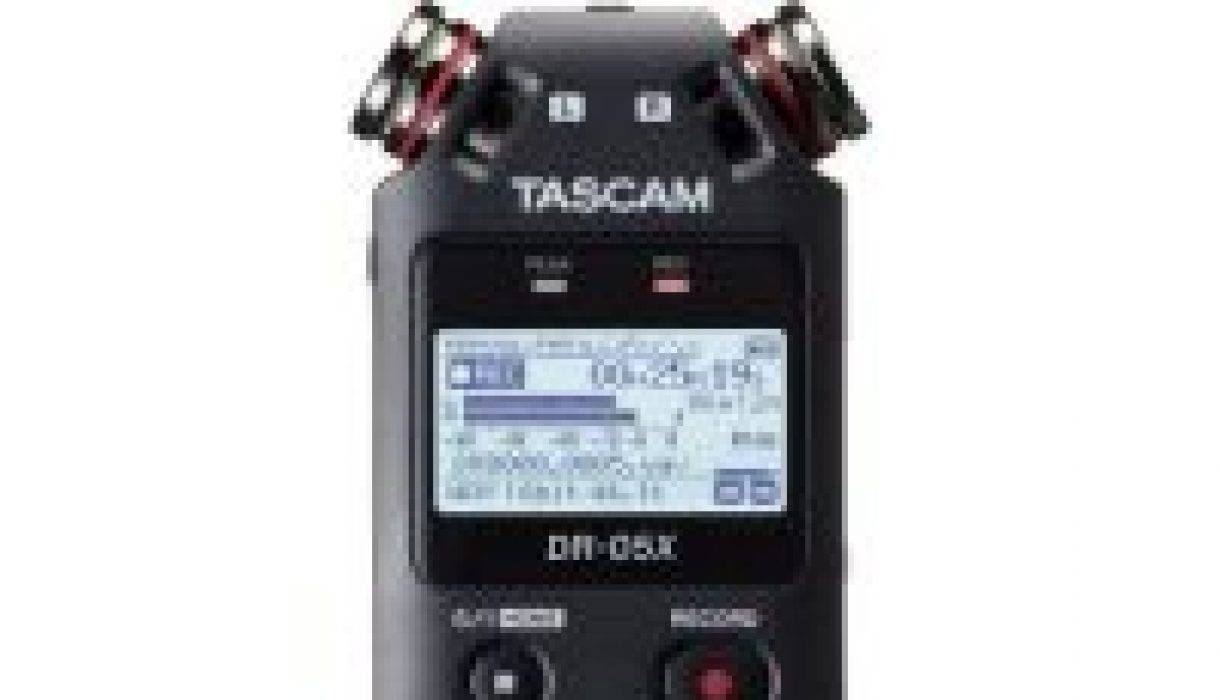 Tascam DR-05X, DR-10X and DR-40X act as USB Interface?
