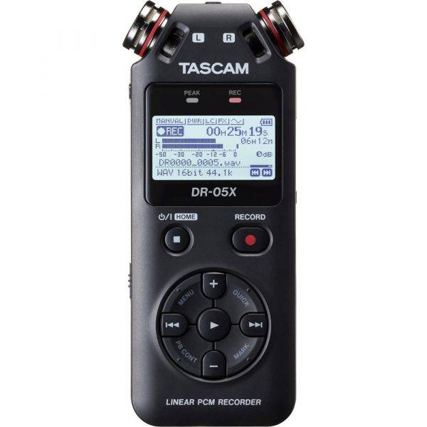 Tascam DR-05X Stereo Handheld Recorder and USB Audio Interface
