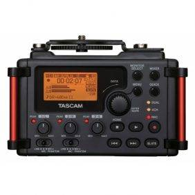 Tascam DR-60DmkII 4-Channel Portable Recorder for DSLR Filmmakers