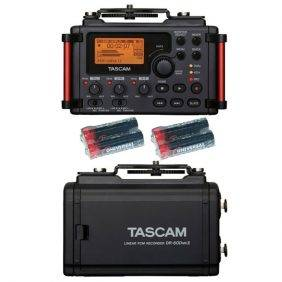 Tascam DR-60DmkII w/4 Free Universal Electronics AA Batteries