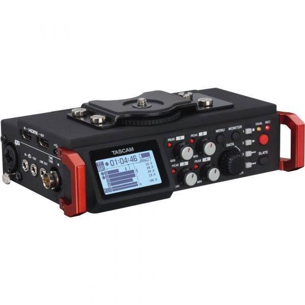 Tascam DR-701D 6-Track Field Recorder for DSLR w/SMPTE Timecode