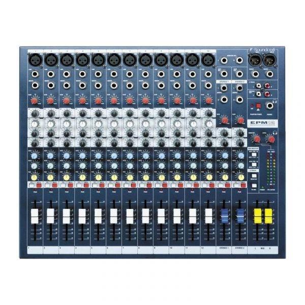 Soundcraft EPM12 12-Channel Multi-format Mixer Refurbished