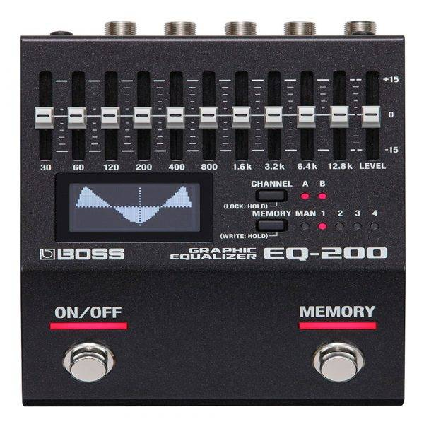 Boss EQ-200 Graphic Equalizer 200 Series Effects Pedal