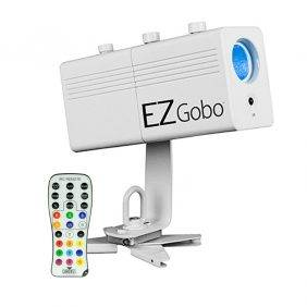 Chauvet EZgobo Rechargeable LED Gobo Lighting Effect