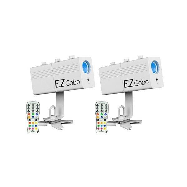 Chauvet EZgobo Rechargeable LED Gobo Lighting Effect 2-Pack