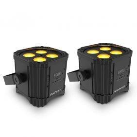 Chauvet DJ EZLINK PAR Q4 BT RGBA Wireless LED PAR Light 2-Pack