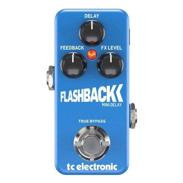 TC Electronic Flashback Mini Delay Pedal for Electric Guitars