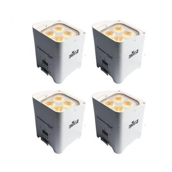 Chauvet Freedom Par Hex-4 LED Light White (4-Pack)