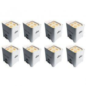 Chauvet Freedom Par Hex-4 LED Light White (8-Pack)