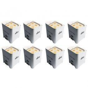 Chauvet Freedom Par Hex-4 LED Light White (8-Pack)