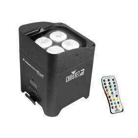 Chauvet Freedom Par Quad-4 LED Lighting Fixture with IRC-6 Remote