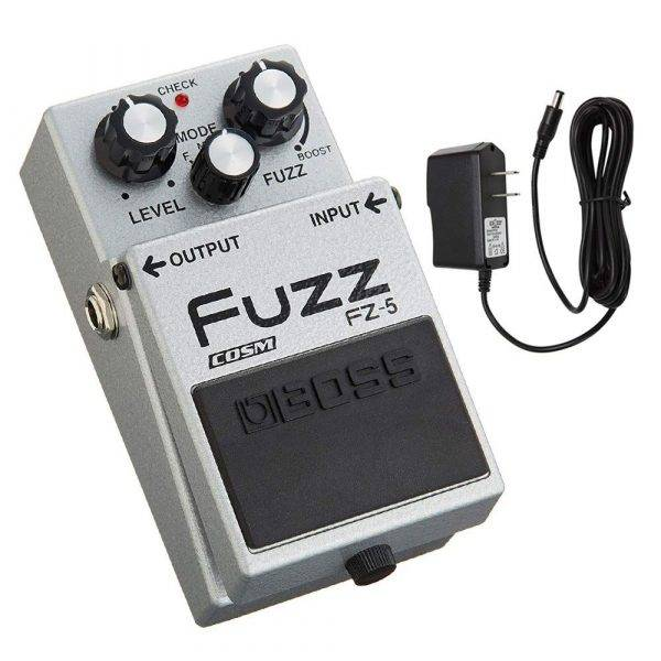 BOSS FZ-5 Fuzz with PigHog PP9V Pig Power 9V DC 1000ma Power Supply