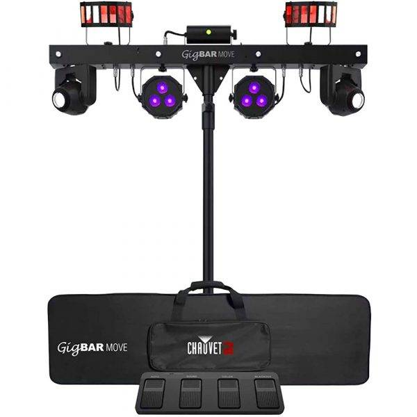 Chauvet DJ GigBAR MOVE 5-in-1 Lighting System with Moving Heads