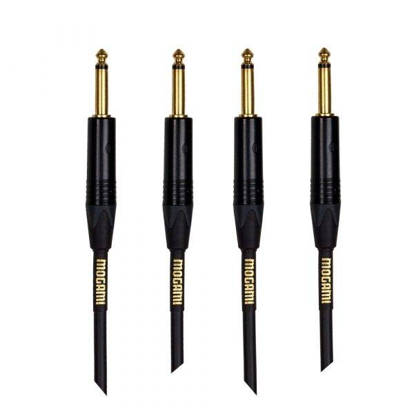 Mogami Gold Instrument-06 Guitar Instrument Cable 2-Pack