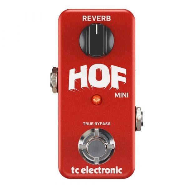 TC Electronic Hall of Fame Mini Compact Digital Reverb Pedal