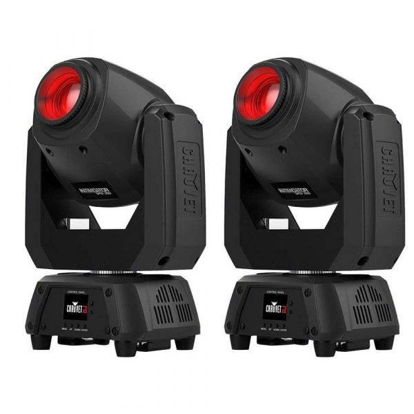 CHAUVET DJ Intimidator Spot 260 LED Moving Head Light-2 Pack