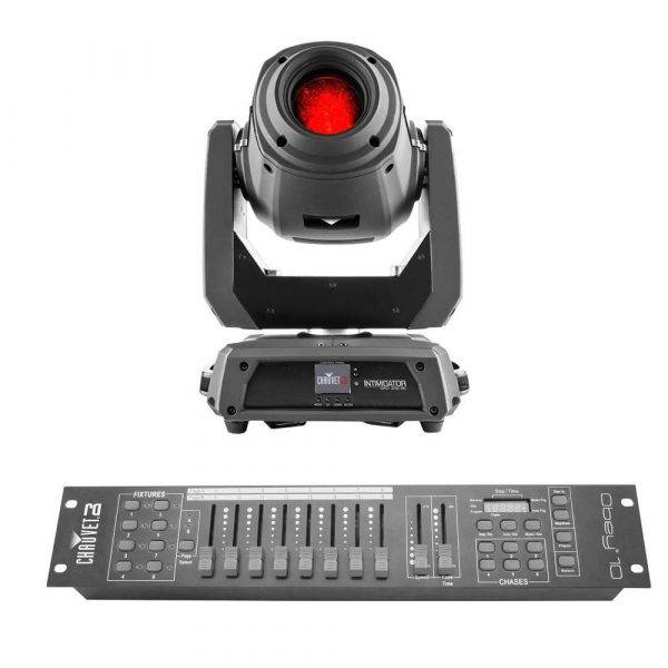 Chauvet Intimidator Spot 375Z IRC Moving-head Spot Black with Obey 10