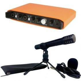 Tascam iXRTP TrackPack iXR Audio Interface with TM-60 Condenser Mic