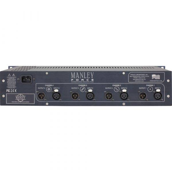 Manley Force 4-channel Tube Microphone Preamp
