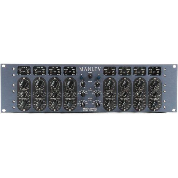 Manley Massive Passive 2-channel, 4-band Vacuum Tube Equalizer
