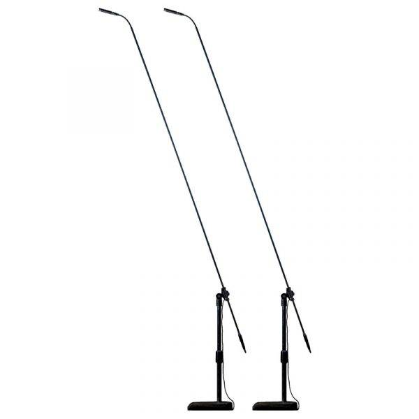 Audix MicroBoom MB5055 Carbon Fiber Boom System with M1255B (2-Pack)