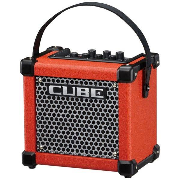 Roland Micro Cube GX Micro Cube Battery-powered Guitar Combo Amp Red