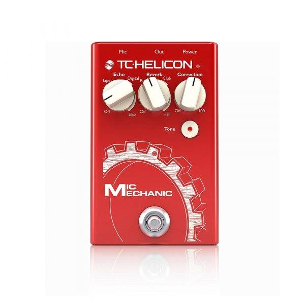 TC-Helicon Mic Mechanic 2 Vocal Toolbox Pedal