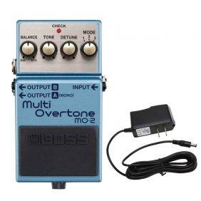Boss MO-2 Multi Overtone Pedal with PowerPig 9V DC 1000ma Power Supply
