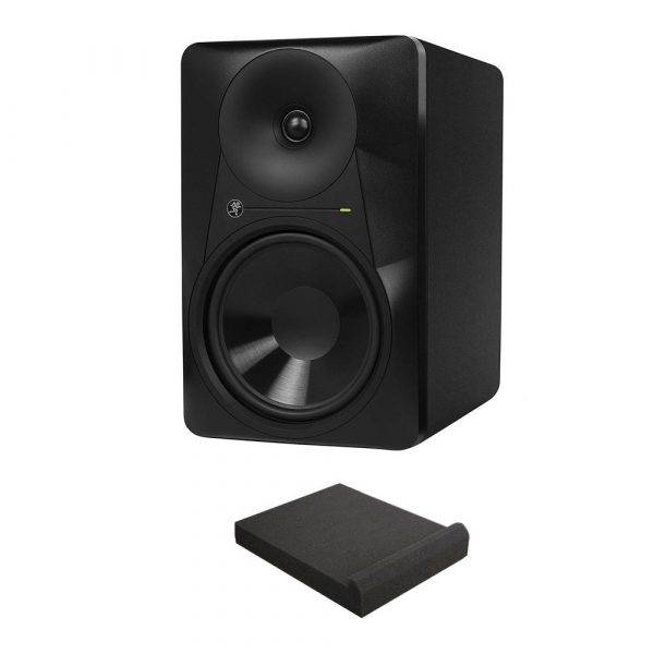 "Mackie MR824 8"" 85W Bi-amplified Active Studio Monitor with Free Isolation Pad"