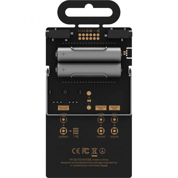 Teenage Engineering PO-32 Pocket Operator Tonic Drum/Percussion Synth