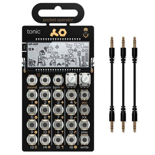 Teenage Engineering PO-32 Tonic with MC-3 Sync Cables Bundle