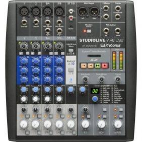 PreSonus StudioLive AR8 USB 8-ch Hybrid Performance & Recording Mixer