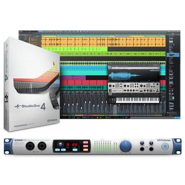 PreSonus Studio 192 26-in/32-out USB 3.0 Audio Interface & StudioOne 4