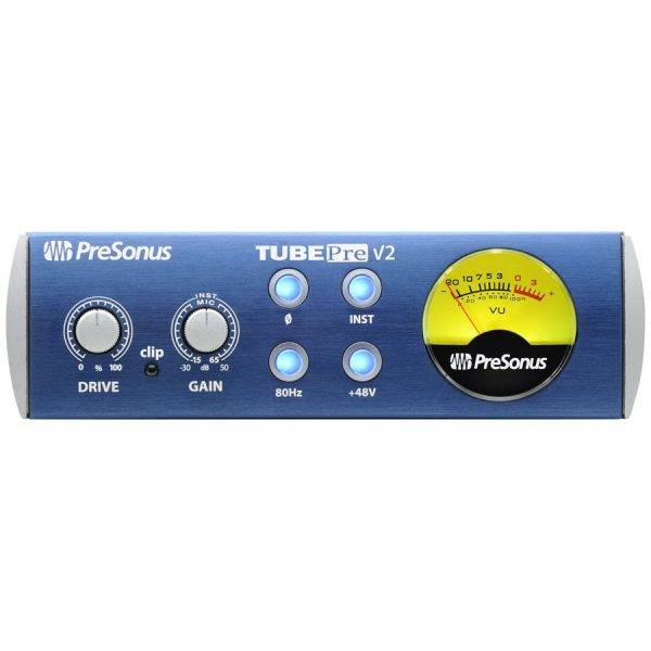PreSonus TubePre v2 Compact Single-channel Microphone Preamplifier