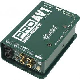 Radial Engineering ProAV1 Audio/Video Passive Direct Box